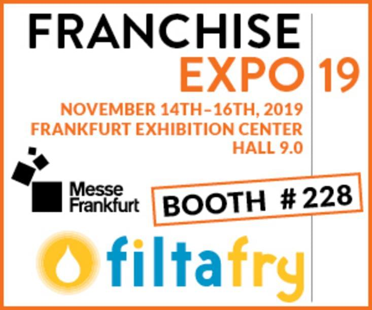 Come and meet us - We would like to invite you to: Franchise Expo in Frankfurt am Main!